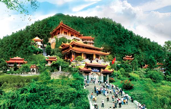 Thiền Viện Trúc Lâm - du lịch Tam Đảo Tây Thiên