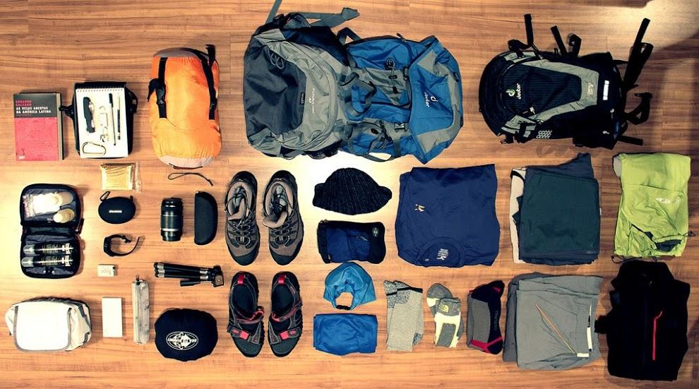 vật dụng cần thiết để leo núi Tam Đảo