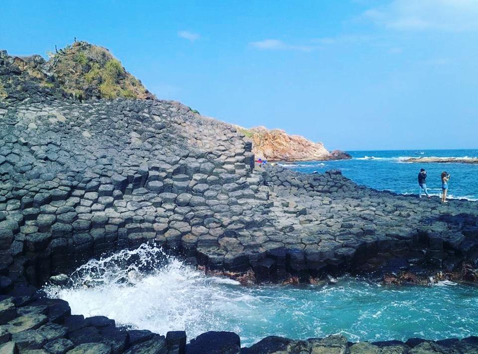 Rock rapids travel Phu Yen