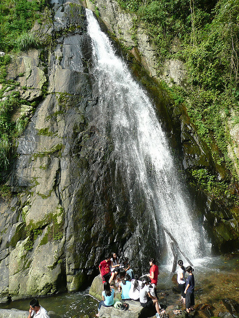 thác Bạc - chơi gì ở Tam Đảo