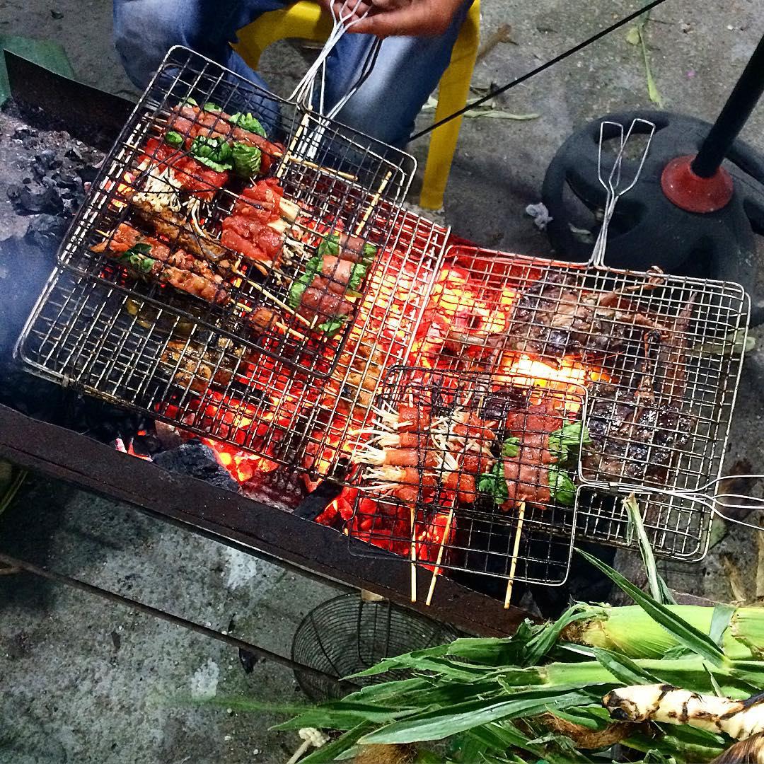 thịt nướng Tam Đảo - chợ đêm Tam Đảo