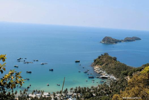 Nam Du đẹp hơn khi ngắm từ ngọn hải đăng