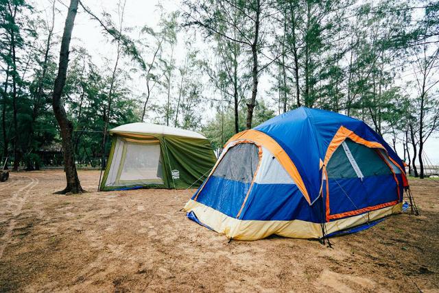 cắm trại ở Tam Đảo 1