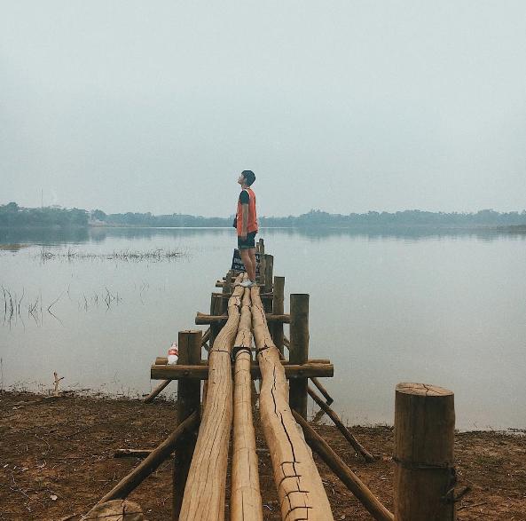 ảnh đẹp tại Sơn Tinh Camp khi chụp ảnh ở Ba Vì