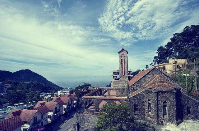 nhà thờ Tam Đảo 2