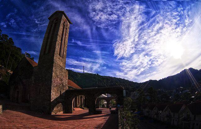 nhà thờ Tam Đảo 6
