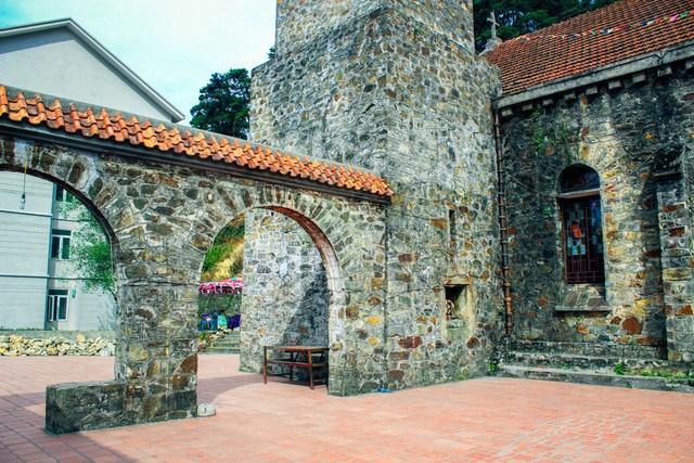 nhà thờ Tam Đảo - kiến trúc 5