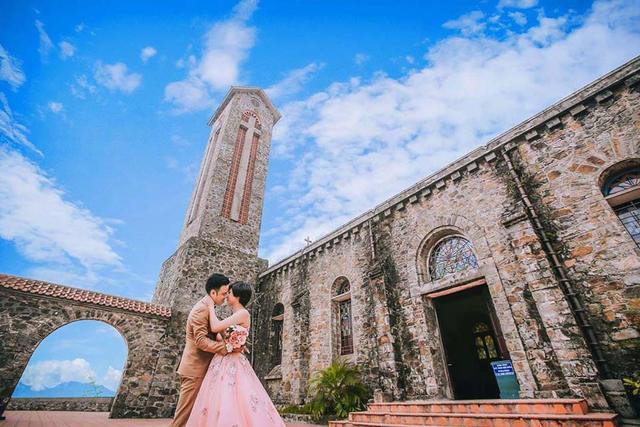 nhà thờ Tam Đảo - ảnh cưới 5