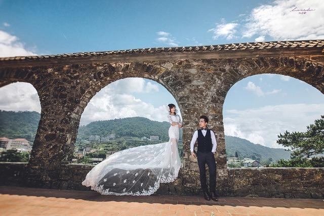nhà thờ Tam Đảo - ảnh cưới 2