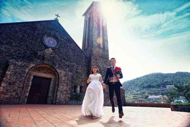 nhà thờ Tam Đảo - ảnh cưới