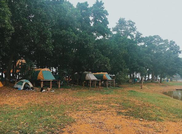 chụp ảnh đẹp ở Ba Vì với Sơn Tinh Camp
