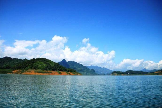 cảnh đẹp Thung Nai