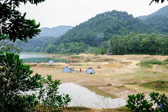cắm trại ở Hàm lợn