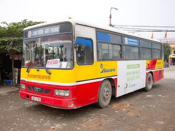 xe bus sang bát tràng