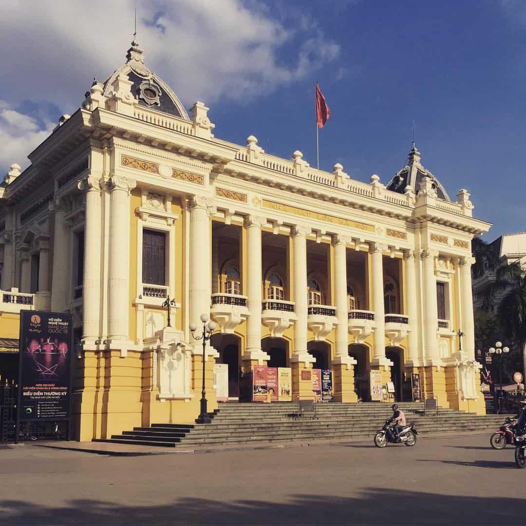 Nhà hát lớn Hà Nội là nơi tổ chức các chương trình ca nhạc lớn của cả nước. Ảnh: @ptrang.nguyen
