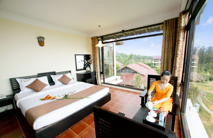 Phòng nghỉ của Fiore Healthy Resort