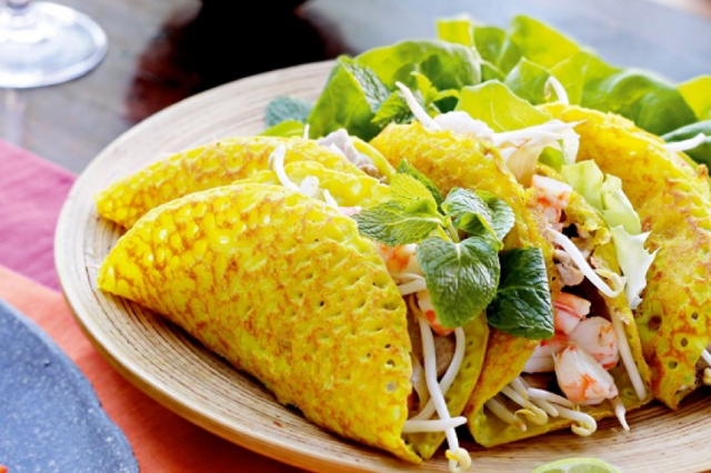 Bánh xèo - Nem lụi - món ngon Đà Nẵng