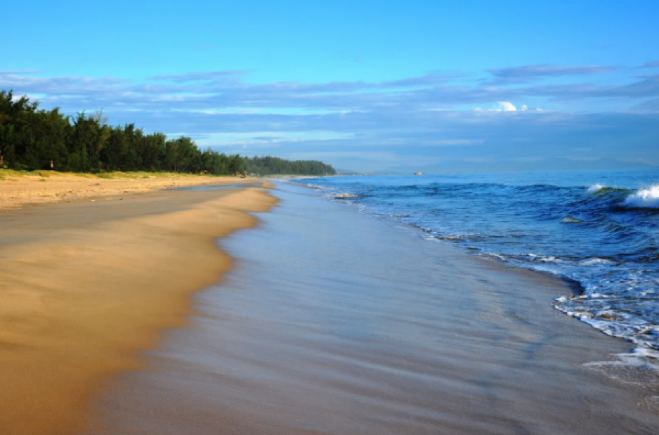 Biển Bảo Ninh - địa điểm du lịch Quảng Bình