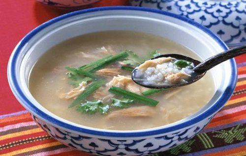 Món ẩm thực Cháo bò Tri Tôn An Giang (Ảnh: ST)