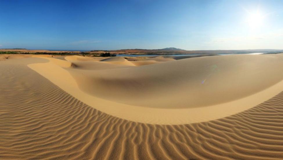 Du lịch Quảng Bình: Cồn cát quang phú