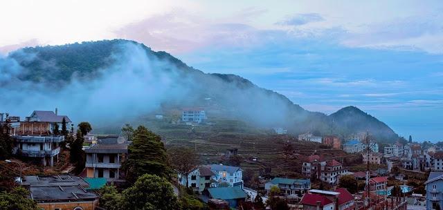 Cảnh đẹp mờ sương ở Tam Đảo