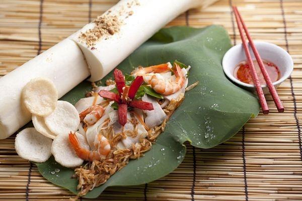 Món ẩm thực gỏi củ hũ dừa (Ảnh: ST)