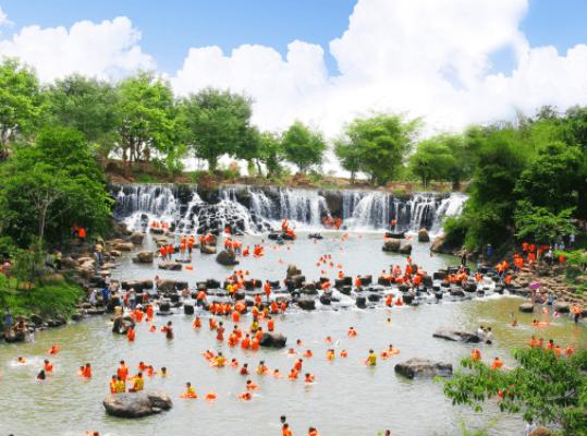 Khu du lịch sinh thái Thác Giang Điền - Đồng Nai