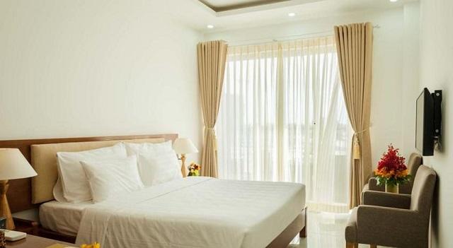 Khách sạn Amon Hotel nội thất sang trọng