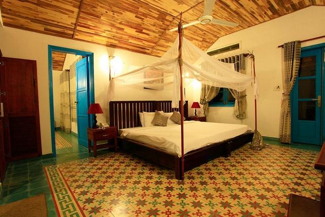 Phòng ngủ đơn giản nhưng tinh tế (Ảnh: ST)