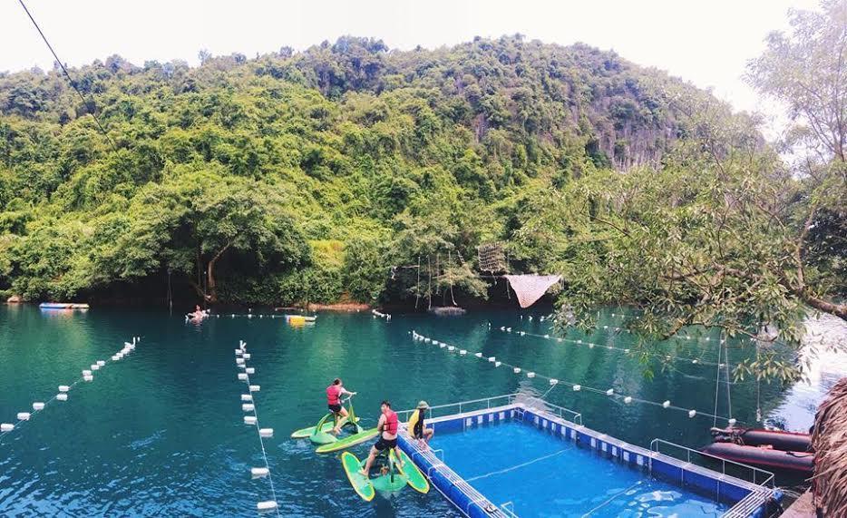 Sông Chày - Hang Tối - địa điểm du lịch Quảng Bình
