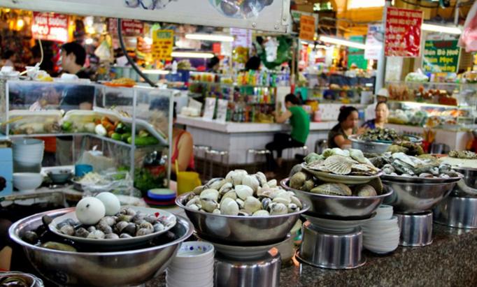 Ẩm thực chợ Bến Thành