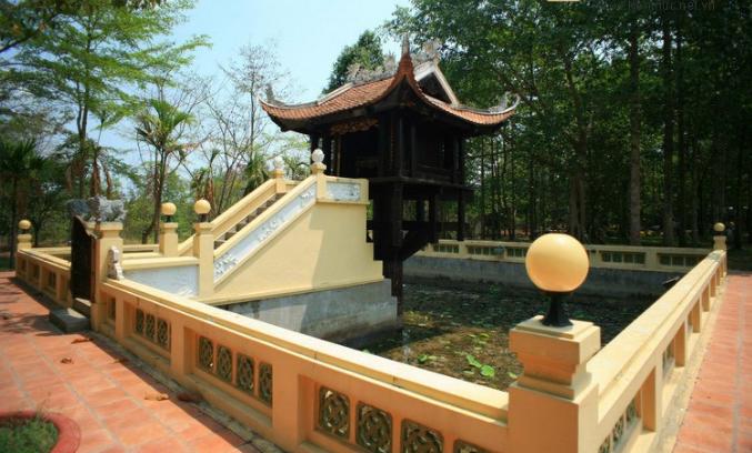 Mô phỏng chùa Một Cột