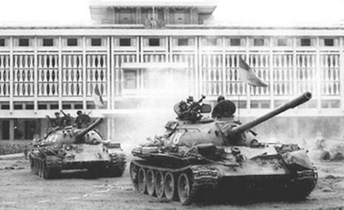 Dinh Độc Lập thời kỳ chiến tranh khốc liệt