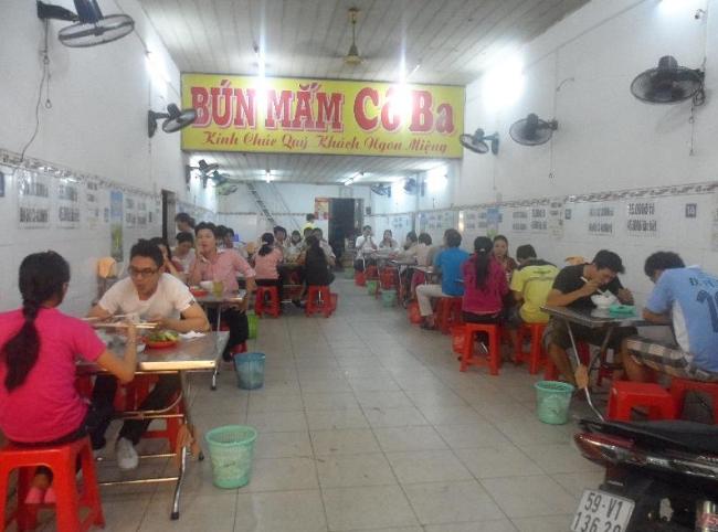 Các quán bún mắm ngon ở Sài Gòn