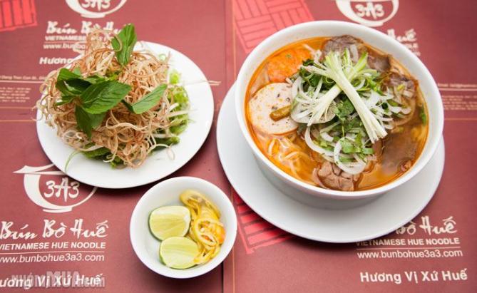 Quán Bún Bò Huế 3A3 Sài Gòn