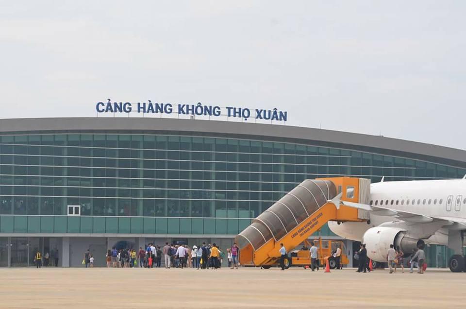 Kinh nghiệm du lịch Thanh Hóa: Cảng hàng không Thọ Xuân