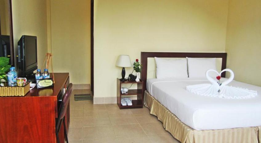 Phòng ngủ đầy đủ tiện nghi (nguồn sưu tầm)