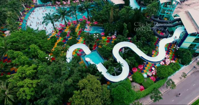 Công viên nước Đầm sen - địa điểm vui chơi cho mọi lứa tuổi
