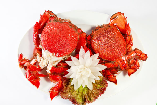 "Flat crabs ""prefer"" more than king crabs (Source of collection)"