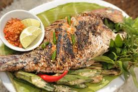 Grilled ghost fish (source of collection)