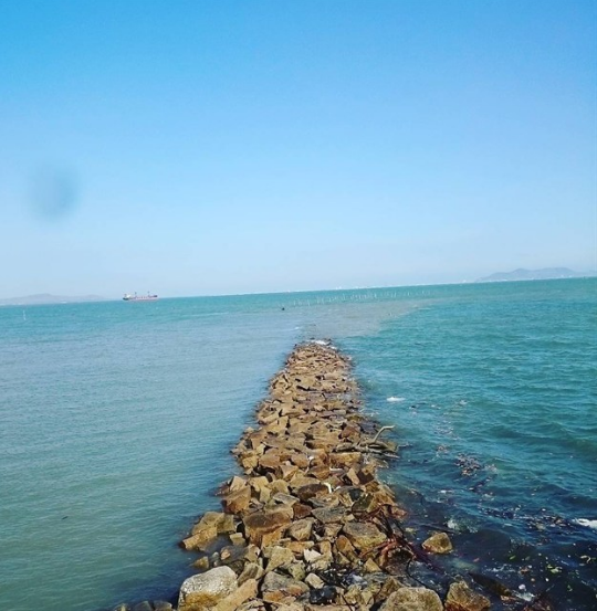 Hình ảnh các bãi đá đảo thạnh an