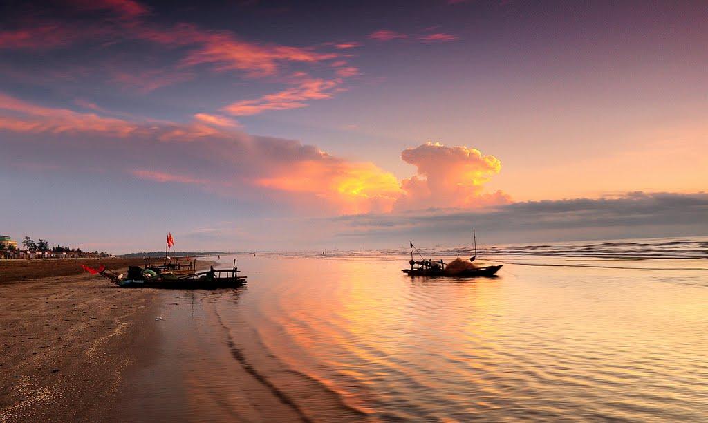 địa điểm du lịch nghệ an: biển diễn thành
