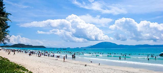 du lịch thanh hóa: Bãi biển hải tiến