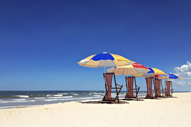 Bãi biển Nhật Lệ thích hợp vui chơi và giải trí