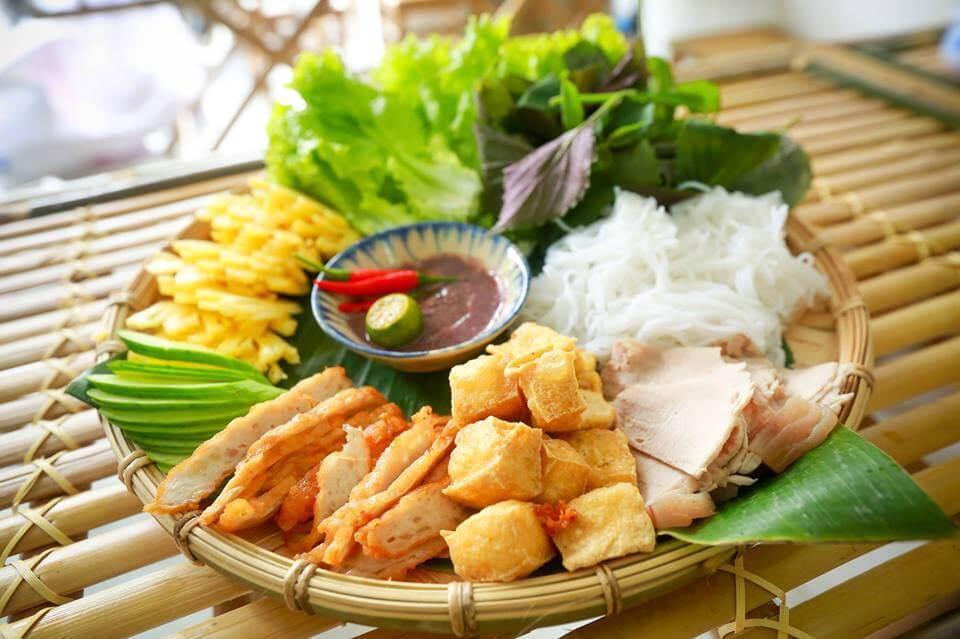 bún đậu mắm tôm món ngon Hà Nội (ảnh sưu tầm)