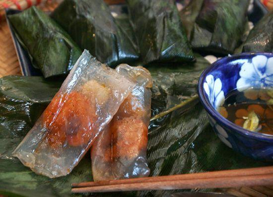 Bánh bột lộc Quảng Trị - ẩm thực Quảng Trị
