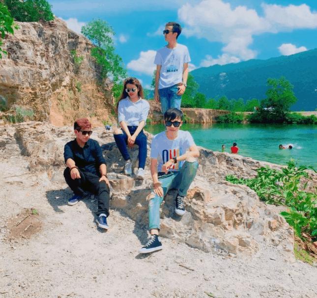 Check-in tại hồ Tà Pạ