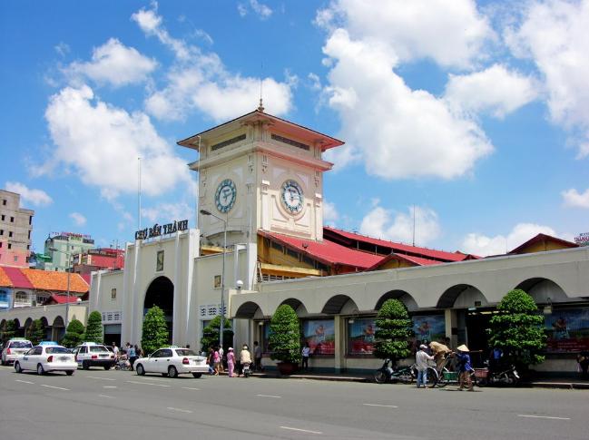 Tham quan Chợ Bến Thành - Nét đặc trưng của Sài Gòn