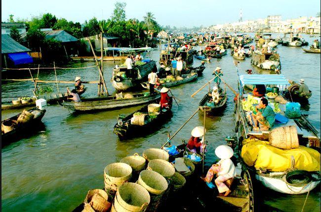 Về Miền Tây ghé thăm Chợ nổi Cái Bè - Tiền Giang