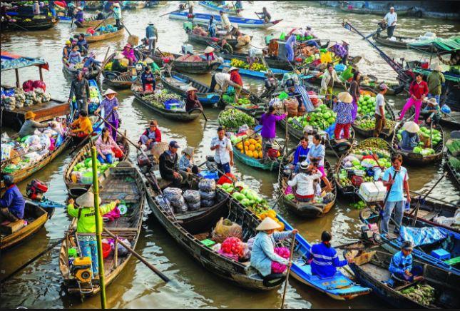 Du lịch 6 tỉnh Miền Tây với chợ nổi Cái Răng